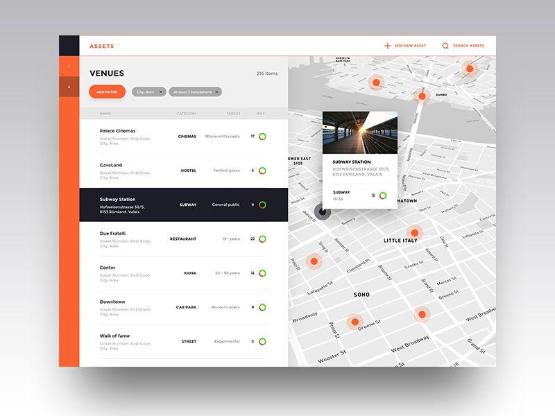 Dashboard Of Inventory Management List View Web Design User Interface Dashboard Design Web Application Design