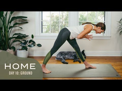 home  day 10  ground  30 days of yoga with adriene