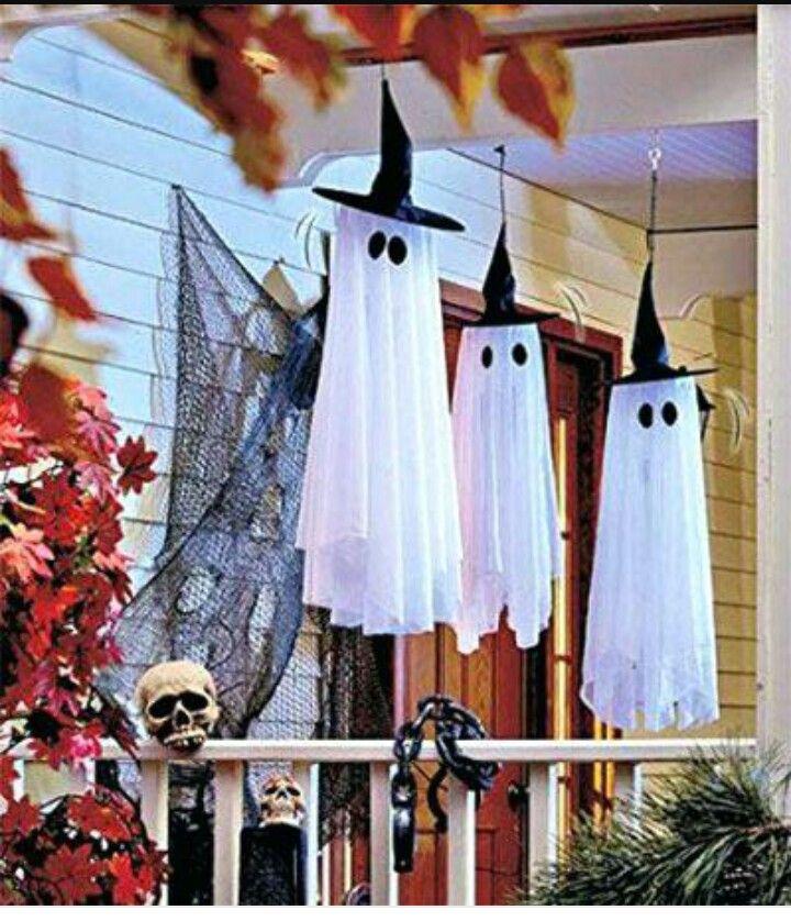 Fantasmas Halloween Decoración De Halloween Diy Decoracion De Halloween Casa Decoración De Halloween