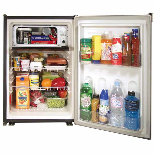 Norcold De0788b 3 1 Cubic Ft Refrigerator Freezer In 2020 Refrigerator Freezer Stainless Steel Refrigerator Refrigerator
