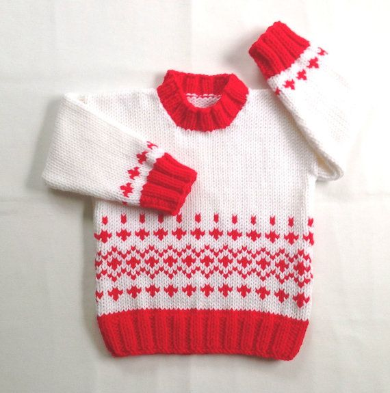 Age 12 to 24 months. This little toddler sweater is suitable for ...