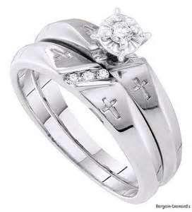 Christian Wedding Rings Sets