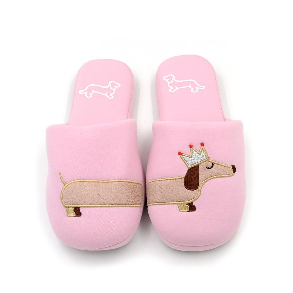 Dachshund Slippers Pink Dog Slippers Slippers Cute Slippers