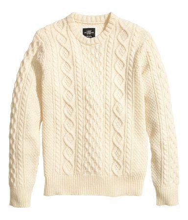 00b068890ba Sweater   Crewneck   Fisherman    H M