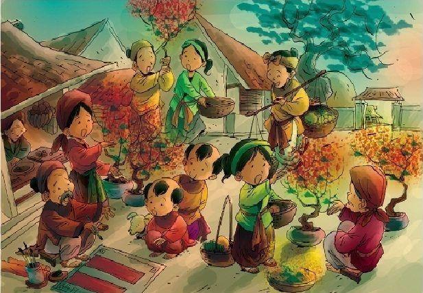 Những phong tục ngày tết truyền thống tại Việt Nam - Giang Anh