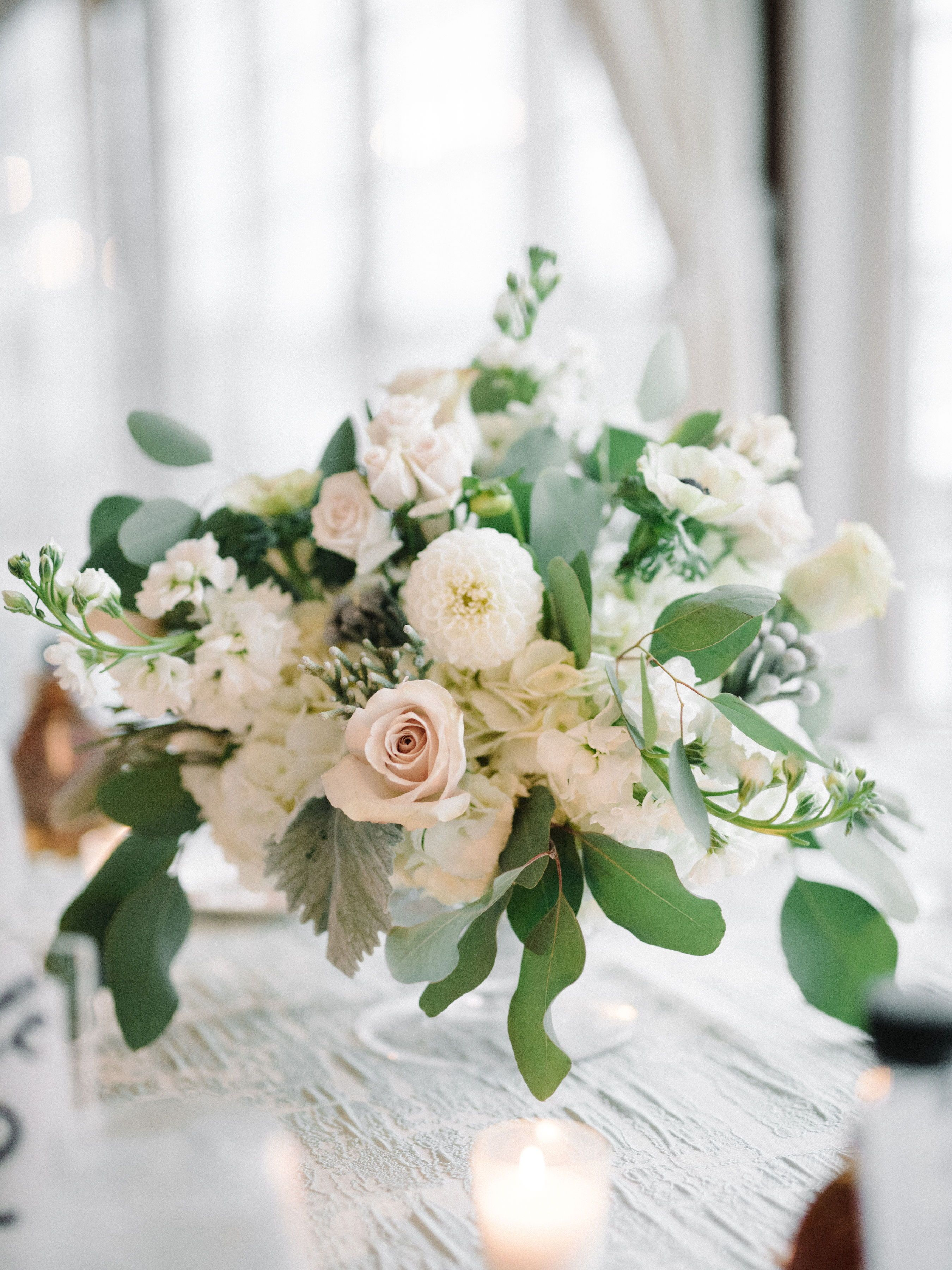 Multi White Flower Wedding Centerpiece Wedding Centerpieces