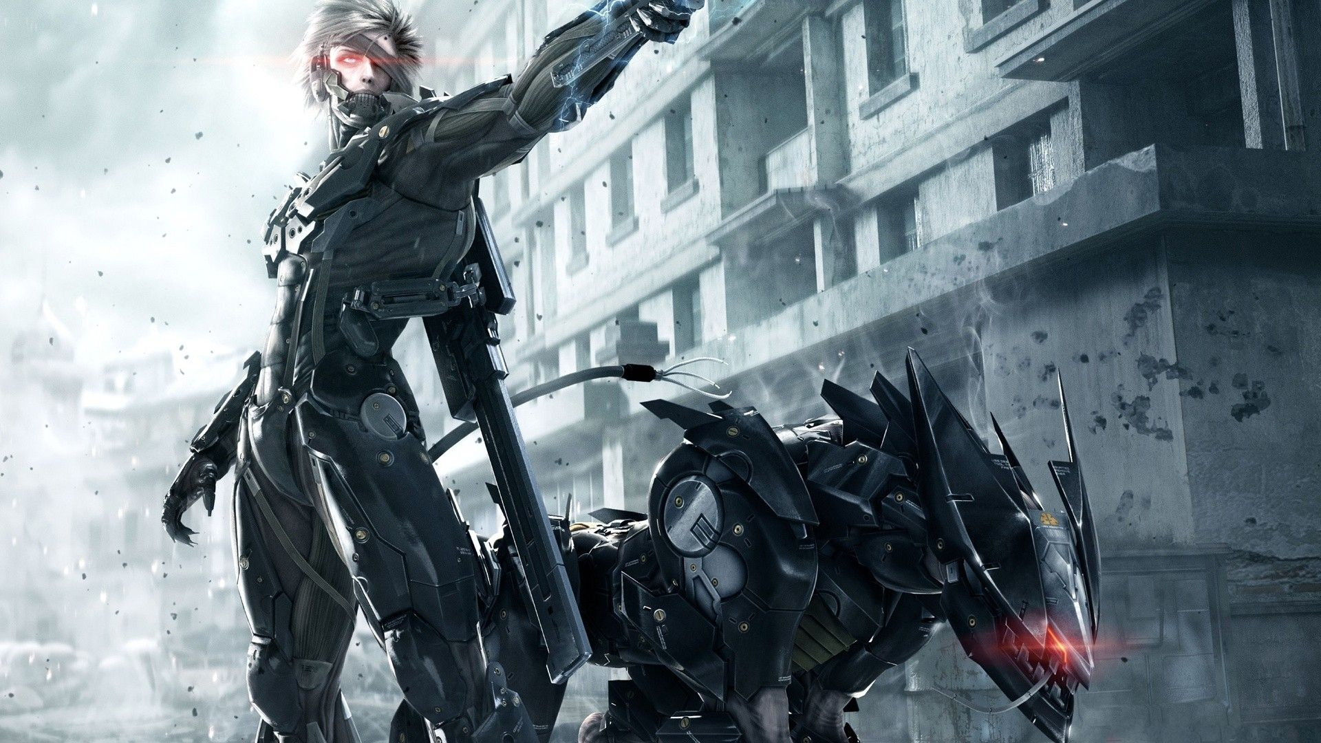 Metal Gear Rising Machine Robot Wallpaper 1920x1080 78832