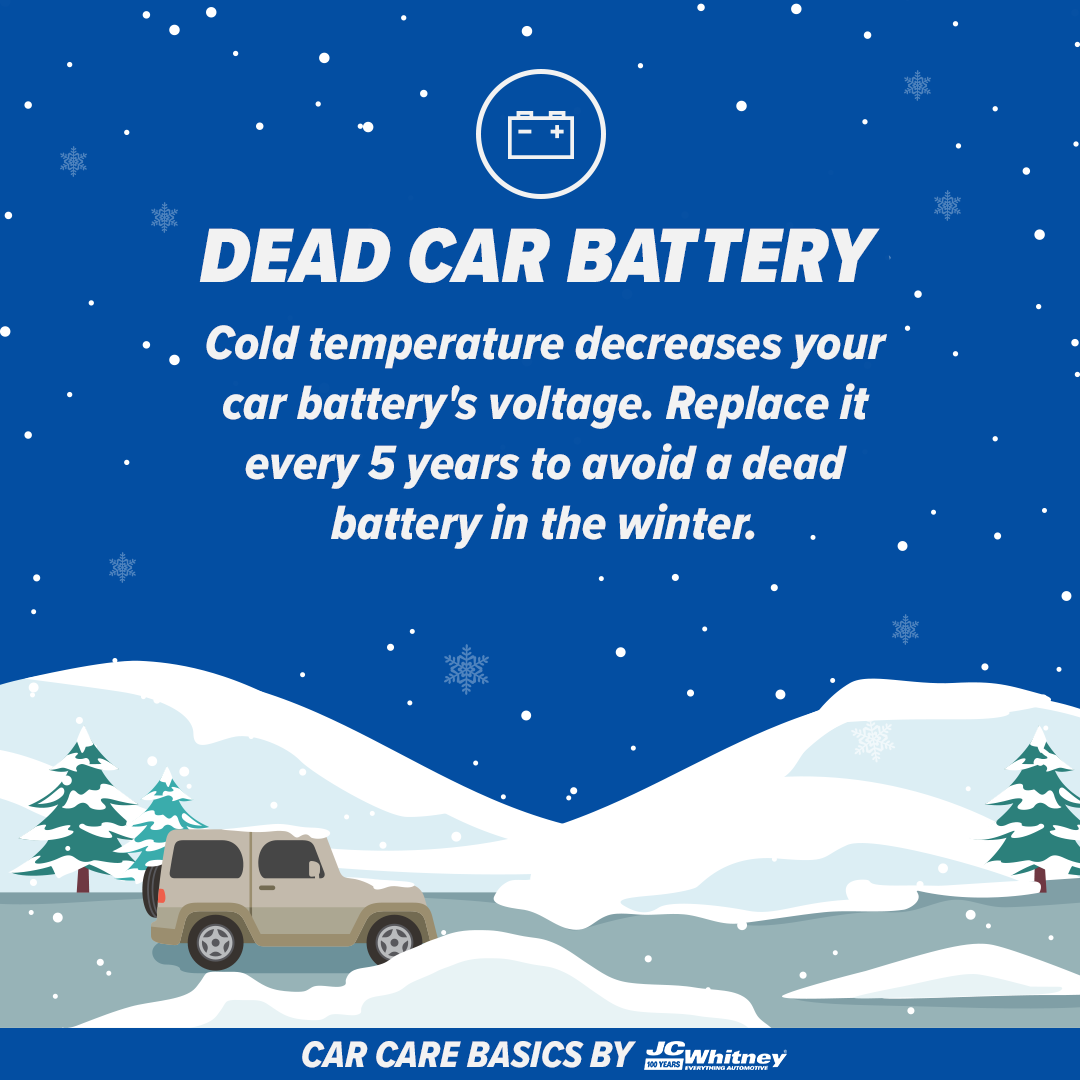Check your car battery regularly and replace it every 5