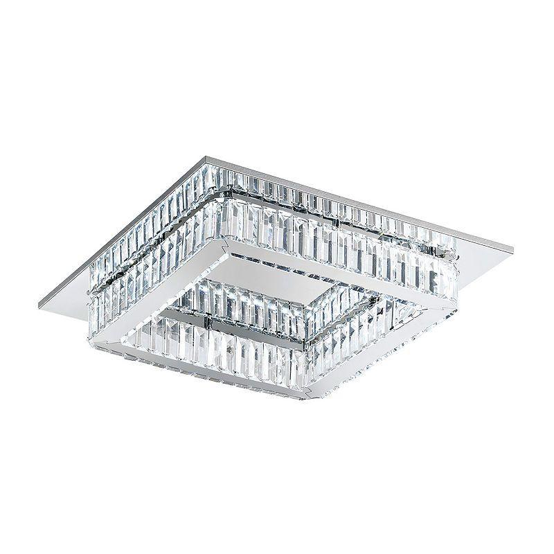 Quarter - 7flammige LED-Deckenlampe in Schwarz Jetzt bestellen unter - badezimmer led deckenleuchte ip44