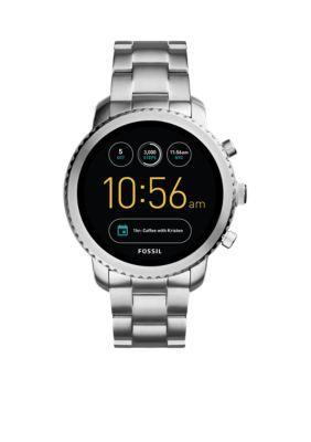 Fossil Smartwatch Stainless Steel Q Explorist Gen 3 Smartwatch Smart Watch Android Wear Swiss Army Watches