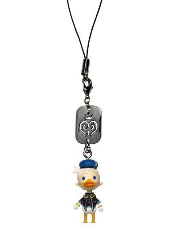 Kingdom Hearts: Donald Duck Mascot Figure Phone Charm by Square-Enix. $9.50. These stylish cute mascots are based on the avatars from the KINGDOM HEARTS series. Straps can be connected to cell phones, handheld items, and more! Each sold separately.