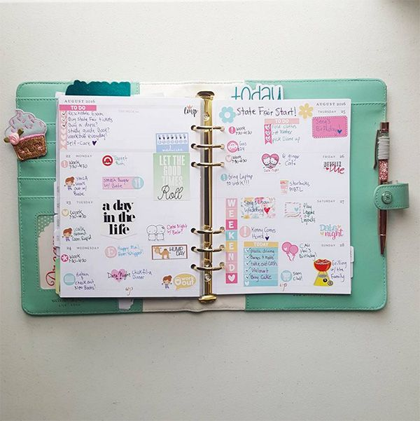18 Tips On How To Have The Most Organized Planner Ever