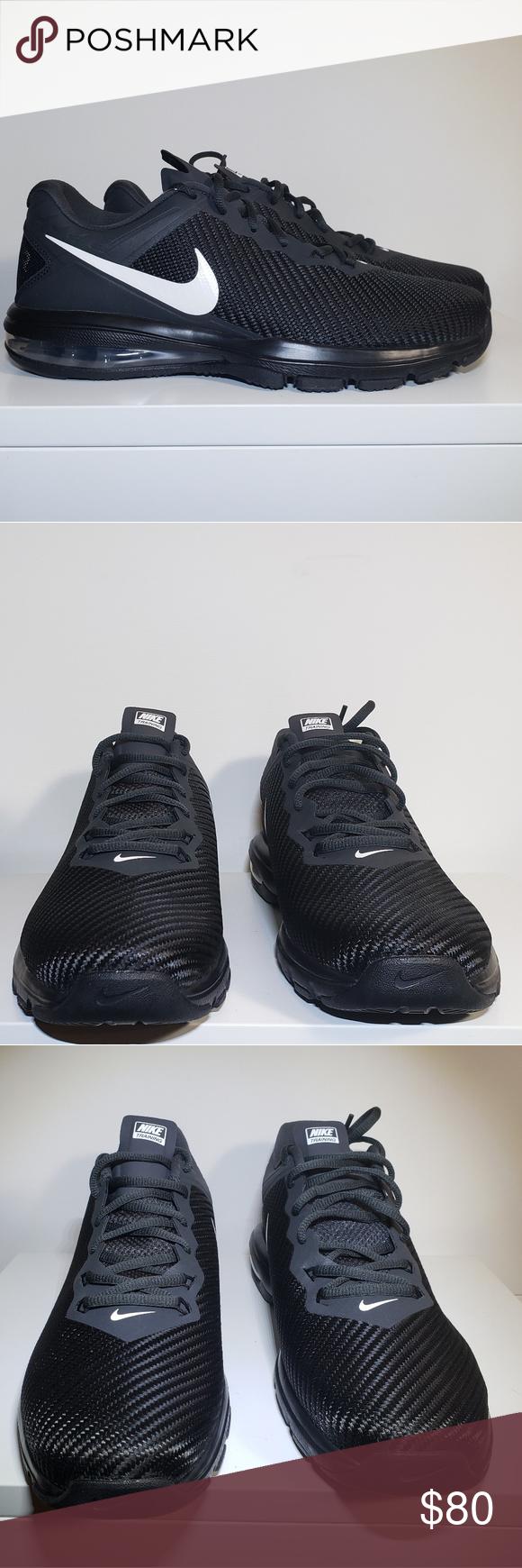 Nike Air Max Full Ride TR 1.5 Mens Black Training Nike Air