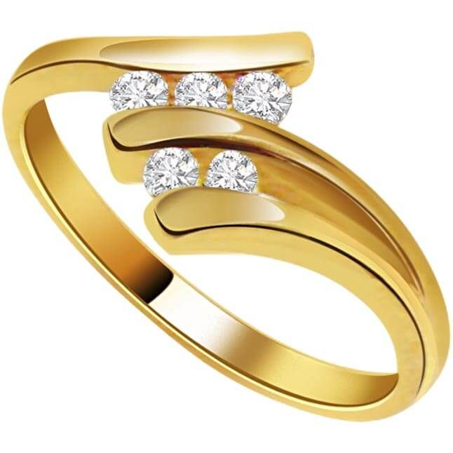 Here are some of the latest gold ring designs for female for a