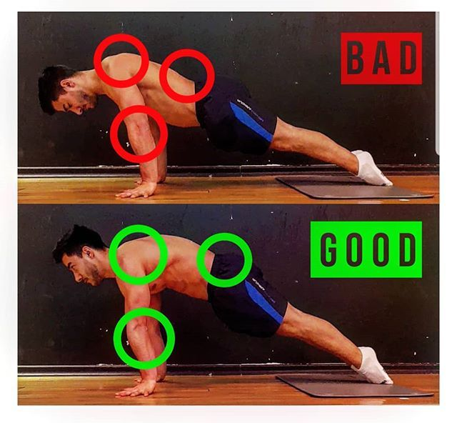 Image result for THE PUSH UP bad and good