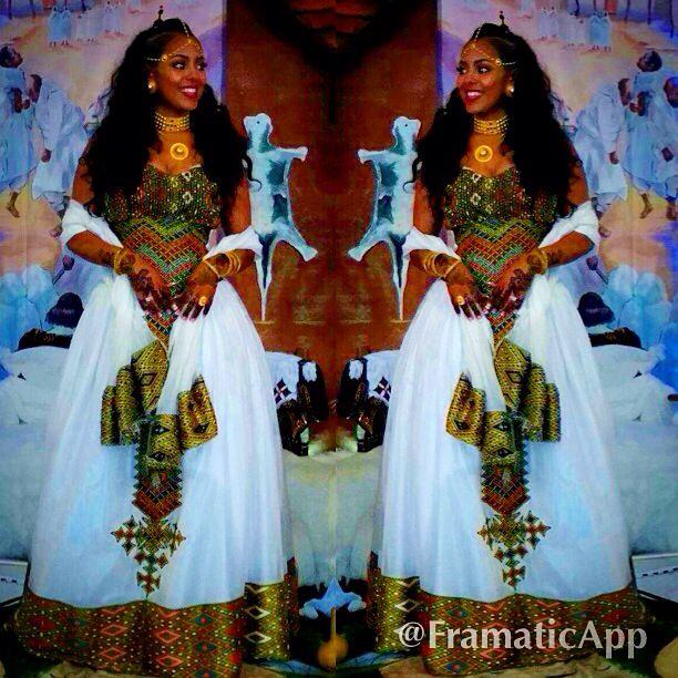 My melsi. Traditional Eritrean wedding.