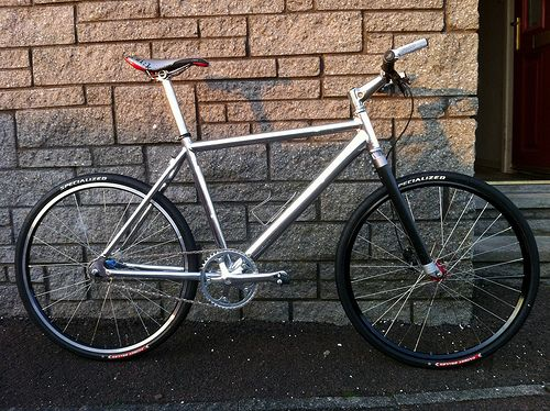 Show me your fixie / single speed road bikes especially light weight ones! « Singletrack Forum