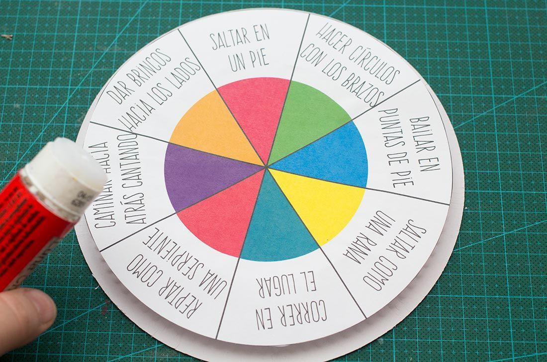 como elaborar una ruleta didactica