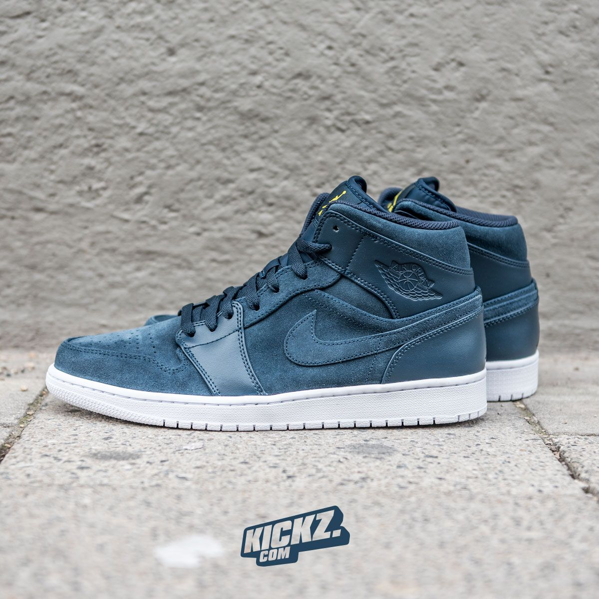 43bf76d216f Air Jordan 1 Mid (armory navy). The shoe that started the Jordan craze in a  new colorway and suede upper.  AirJordan1  AirJordan  kickzcom