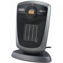 Delonghi Dch4590er Safeheat 1500w Digital Ceramic Heater With Remote Control Gray Black Best Space Heater Ceramic Heater Heater
