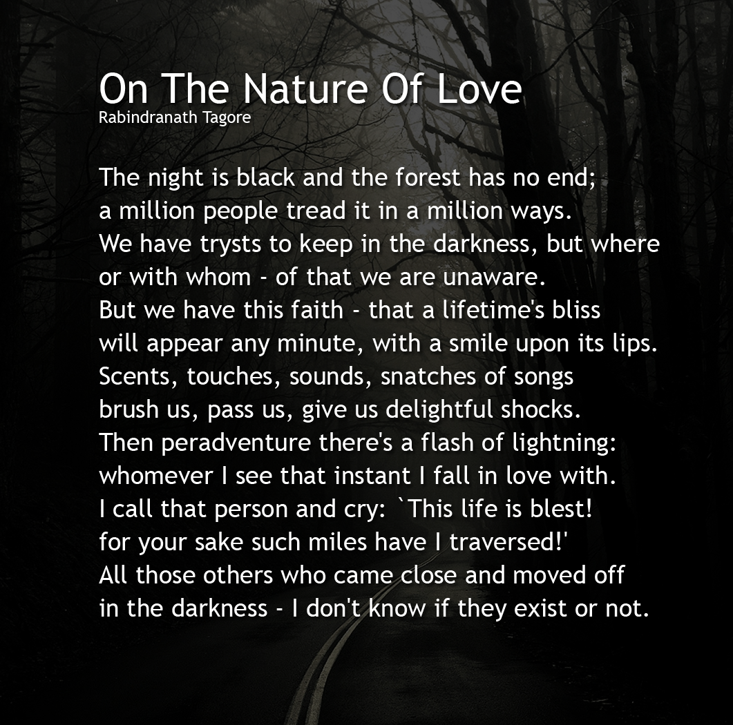 long poems about nature