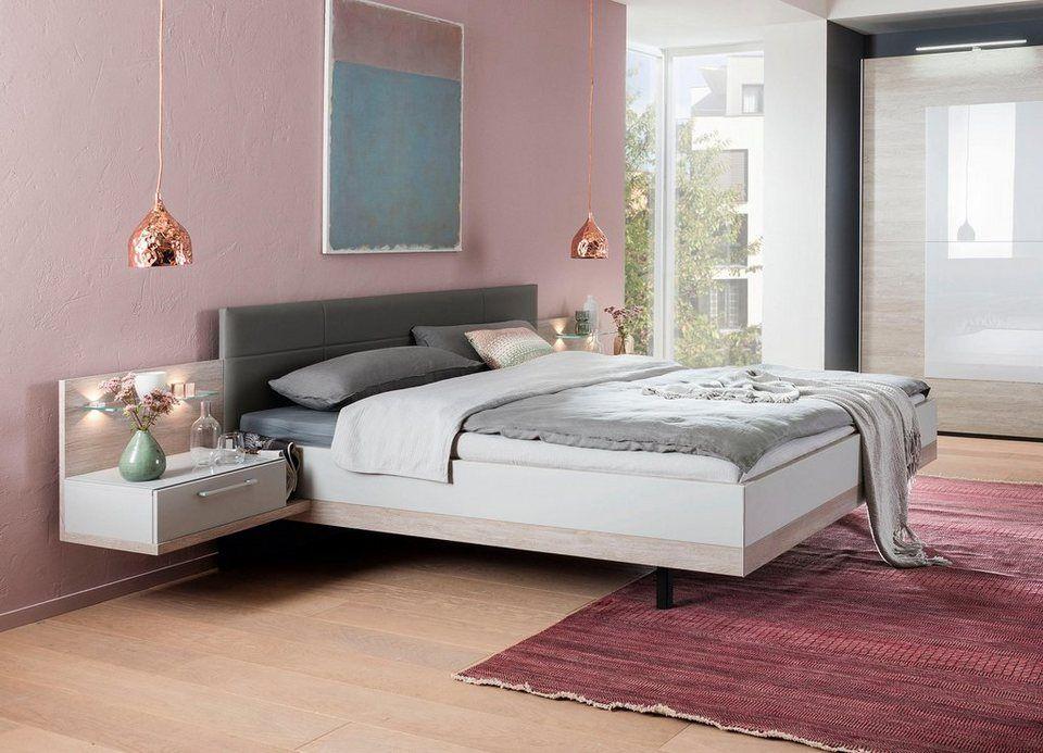 nolte® Möbel Bett »Novara« inklusive zwei Nachtkonsolen in ...