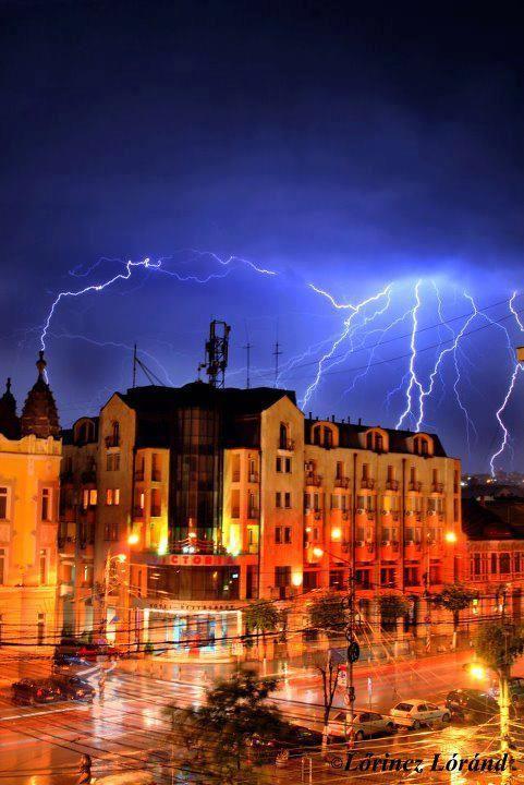 Romania ,Cluj - the most important town in Transylvania