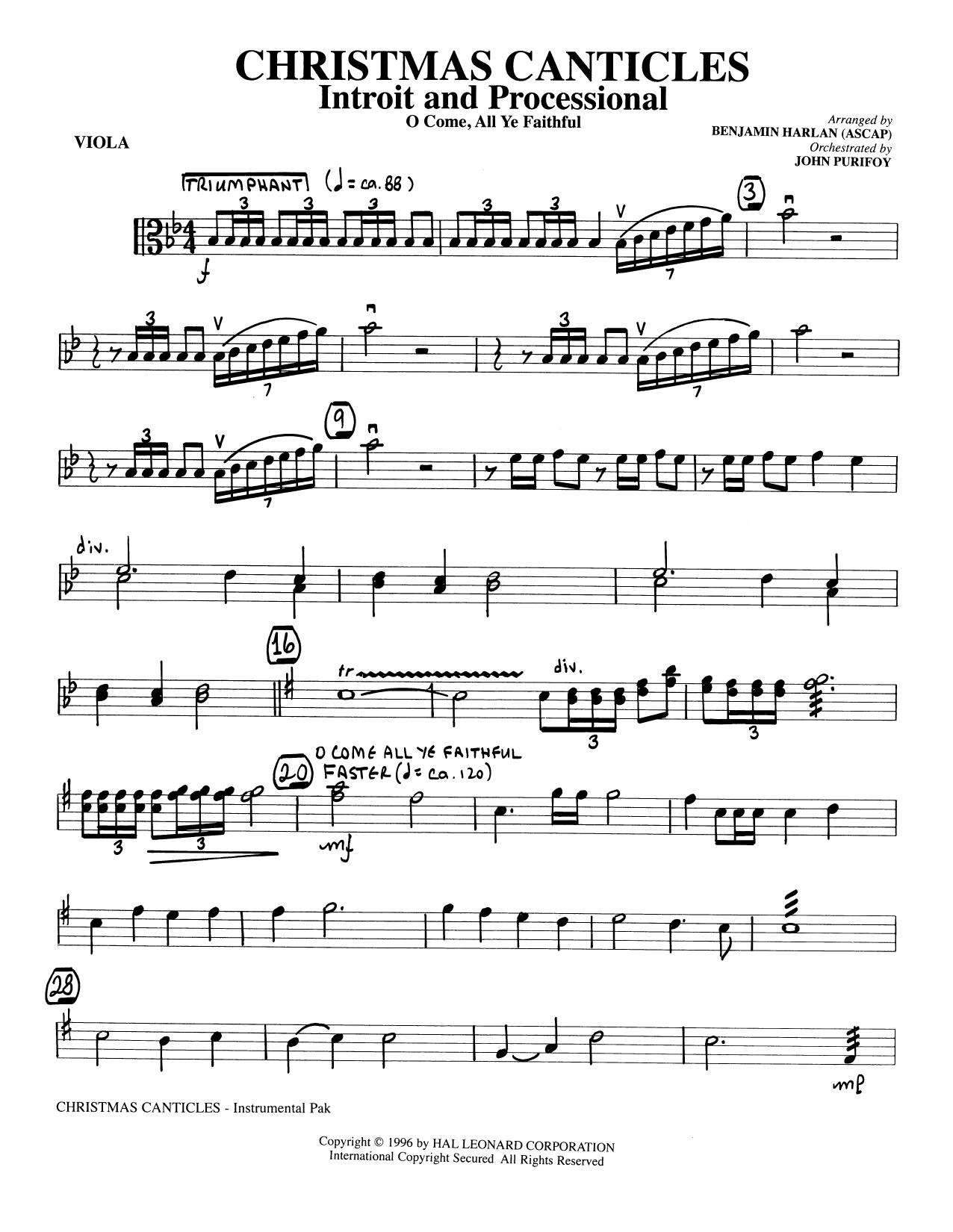 Benjamin Harlan 'Christmas Canticles A Cantata of Carols
