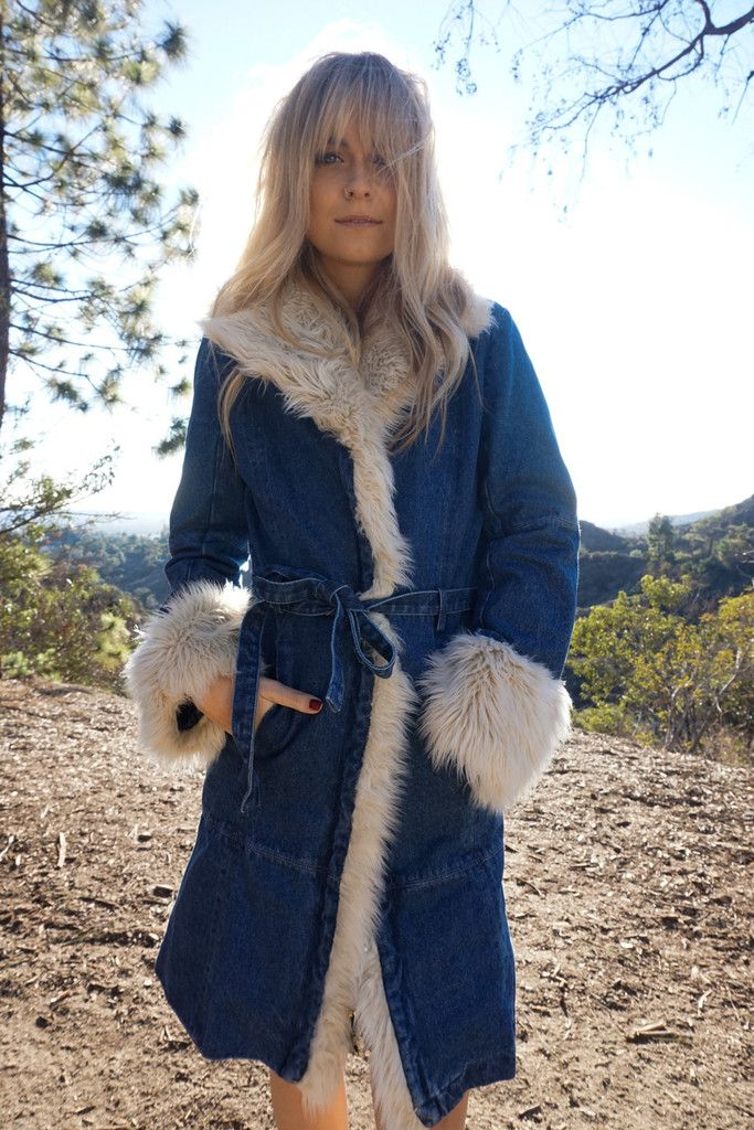 Dusk to Dawn Faux Fur Coat – 12th Tribe