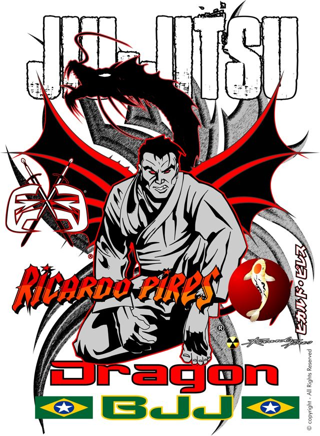 JIU-JITSU - DRAGON  CRIAÇÃO - 05-04-2008 by Ricardo Pires * Artesanal. Copyright © 1999-2014 RicardoPires.com. All rights reserved.