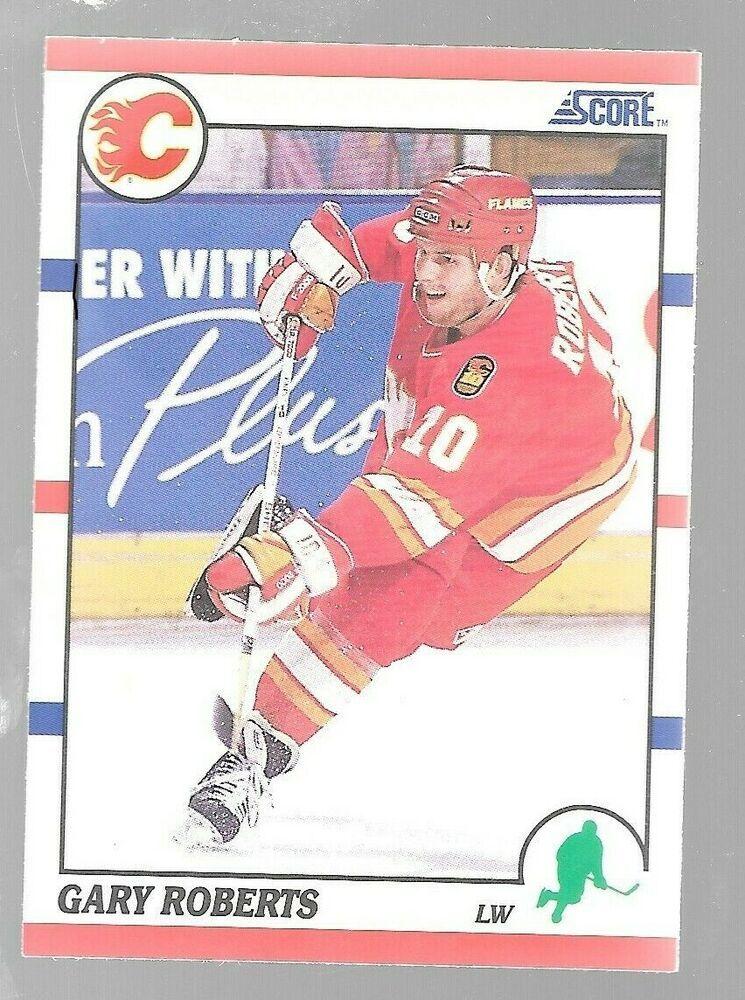 199091 Score Gary Roberts 106 Calgary Flames Hockey Card