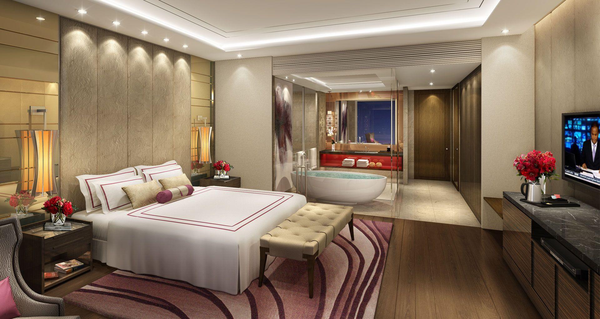 Hotels Interior penthouse hotel - angeles city, philipines designedstudio hba