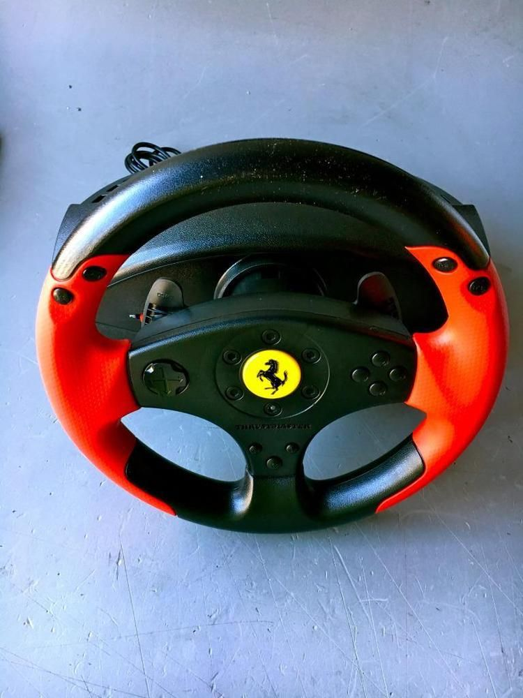 Thrustmaster Ferrari Racing Wheel Red Legend Edition As Is Parts
