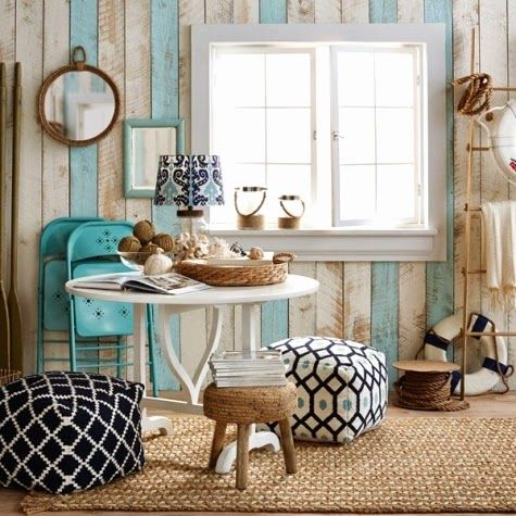 Install an Accent Wall -Wood Paneling Ideas for Coastal ...