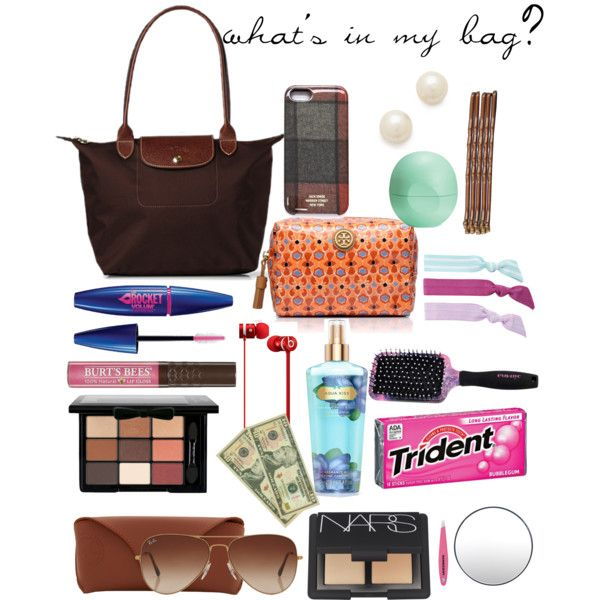 """what's in my bag?"" by emmiecooksey on Polyvore"