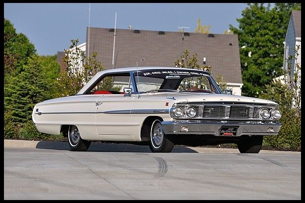 G147 1964 Ford Galaxie 500 Xl Hardtop 352 220 Hp Automatic Ford Galaxie 500 Ford Galaxie Galaxie
