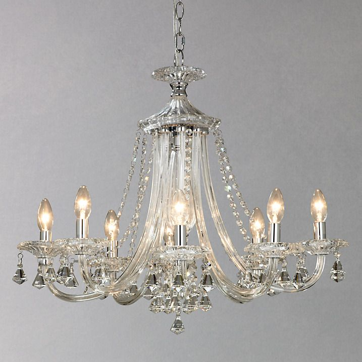 John lewis ophelia crystal chandelier 8 light john lewis buy john lewis ophelia crystal chandelier 8 light online at johnlewis aloadofball Gallery
