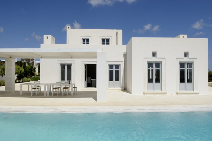 Greek Style House greek style houses - home design