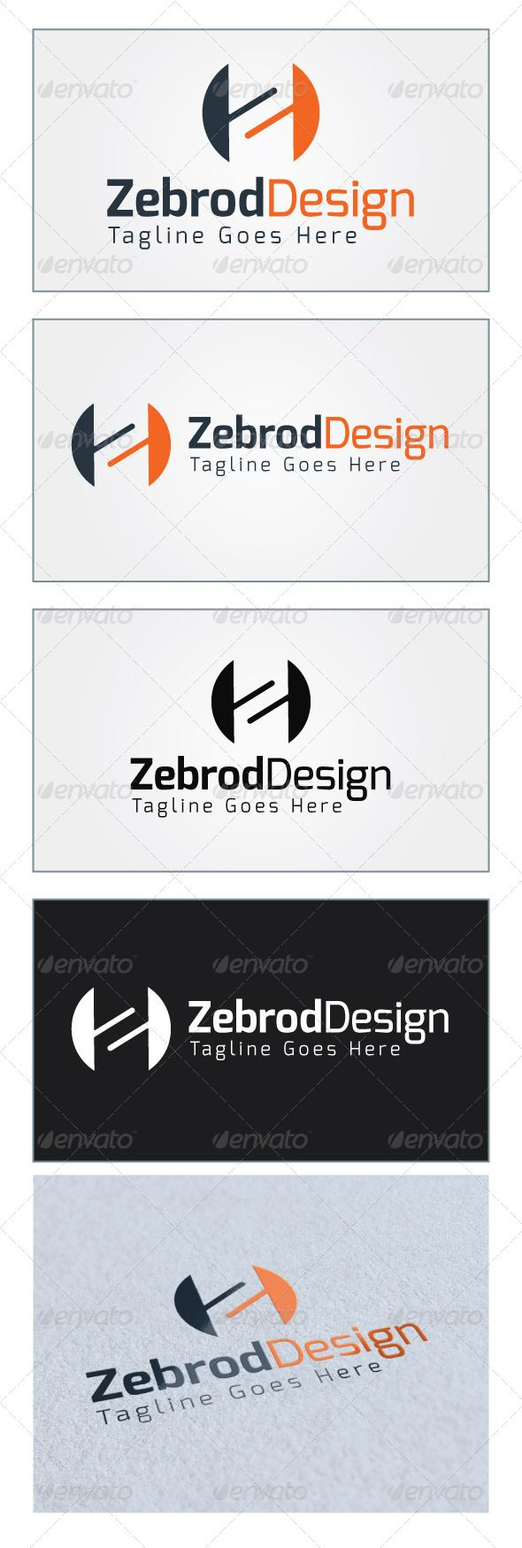 Zebrod Design Logo Template GraphicRiver Re sizable