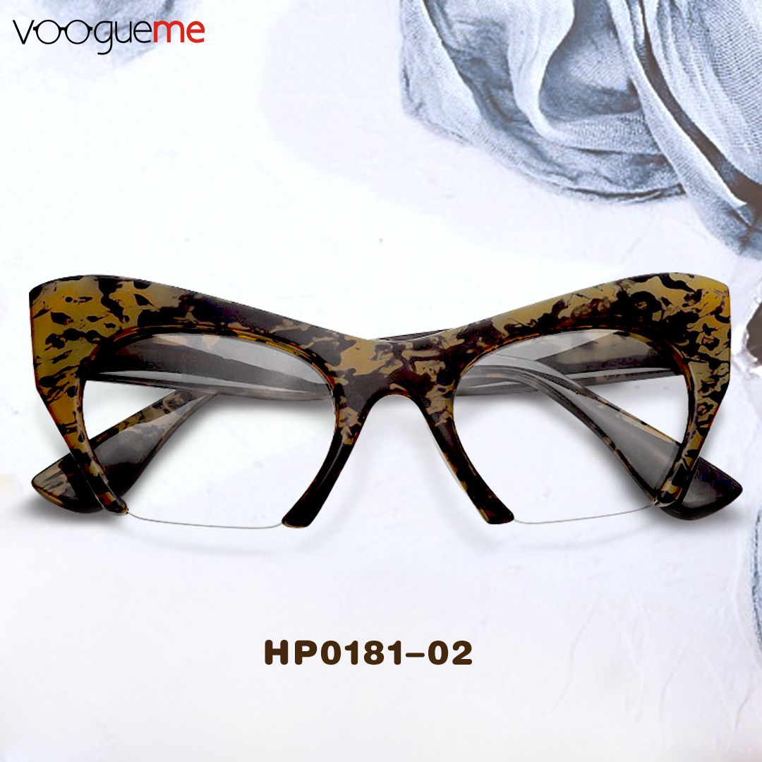 b404318d00b Kelly Affordable Leopard Half Frame Cateye Eyeglasses This pair of leopard  eyeglasses are perfect for beach