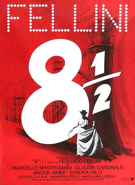 Otto E Mezzo Movie Posters Vintage Movie Posters Movie Poster Art