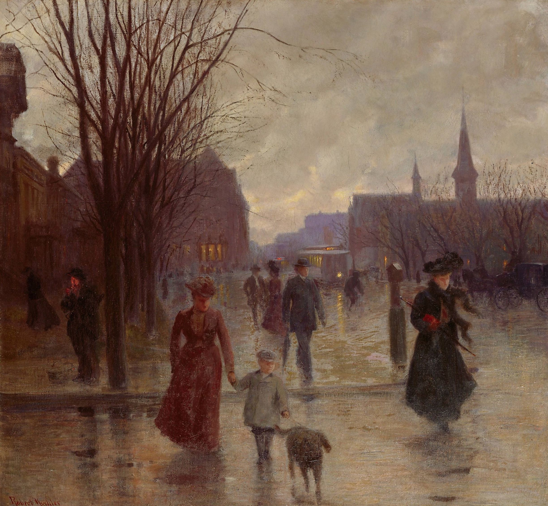Rainy Evening On Hennepin Avenue Koehler