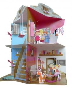 la maison de clara pop up houses pop up book carousel. Black Bedroom Furniture Sets. Home Design Ideas