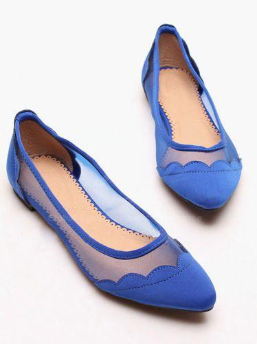 029352acd0091 Cobalt blue flats | Shoes Shoes Shoes! | Shoes, Blue shoes, Blue flats