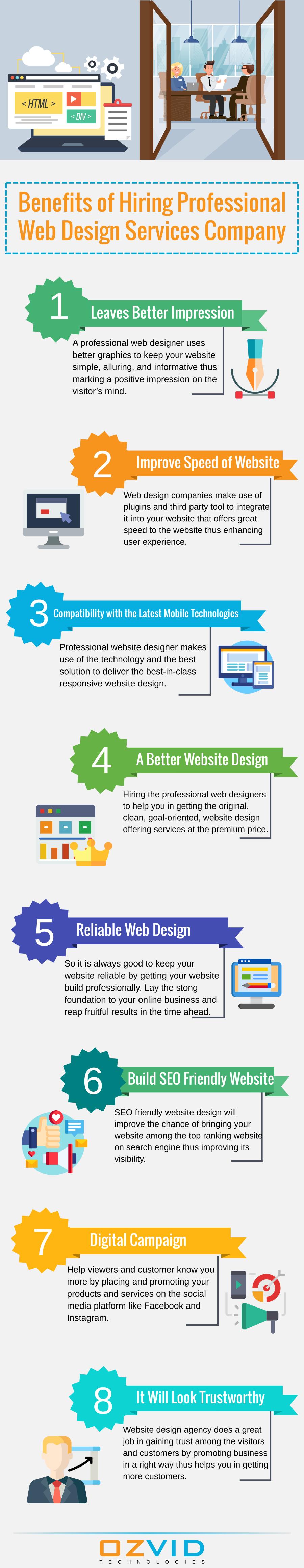 Benefits Of Hiring Professional Web Design Services Company Web Design Services Service Design Professional Web Design