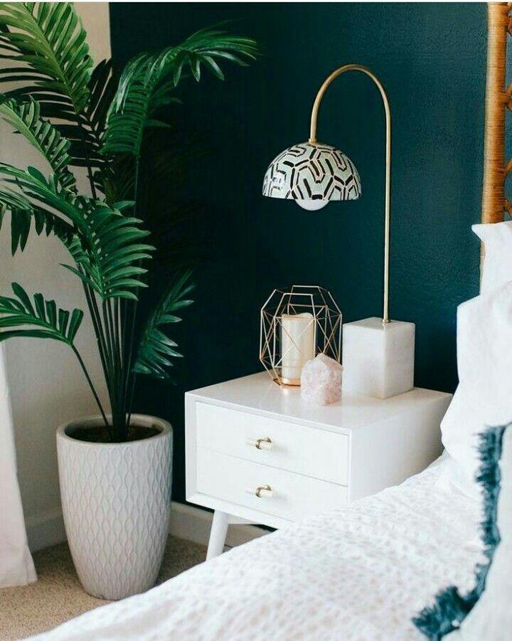 Epingle Par Mawa Sur Home Inspiration Chambre Bleu Canard Vert