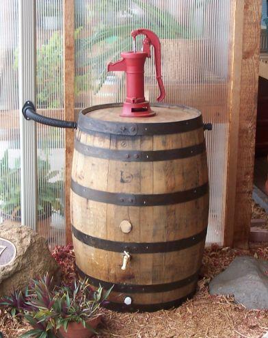 White Oak Rain Barrels Barrel Kit Water System