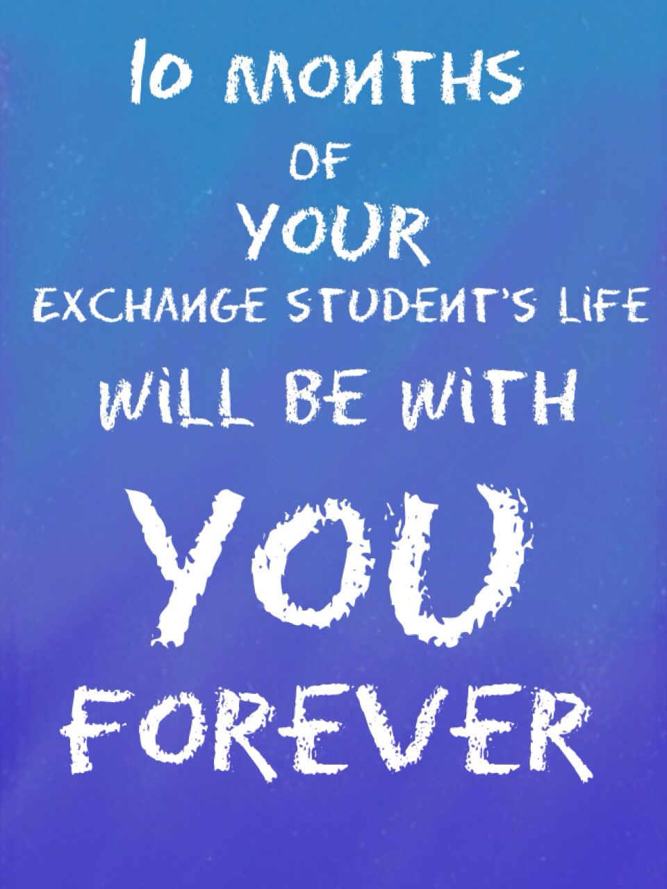 Exchange Student Quote Quote International Exchngestudents Host