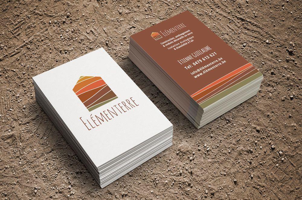 Imprims Commerciaux O Elmenterre Cartes De Visite Et Petits Dpliants Pour La Socit