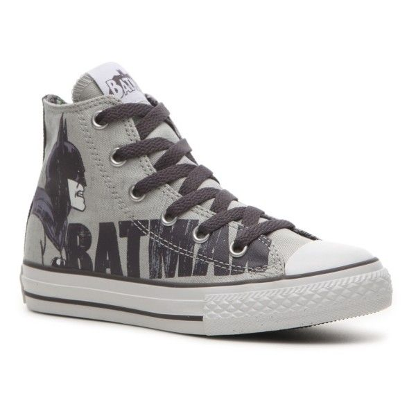 9d02107f52f0 Converse All Star Batman Boys  Toddler   Youth Hi-Top Sneaker ( 36 ...
